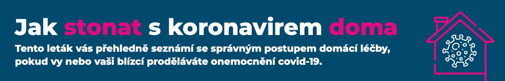 Jak stornovat s koronavirem doma - leták v PDF ke stažení